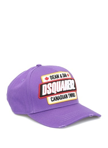 Dsquared2 Şapka Mor